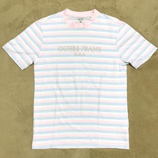 ゲス(GUESS)のA$AP Rockey × GUESS Tシャツ 美品(Tシャツ(半袖/袖なし))