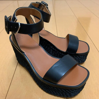 SLY - ◾SLY◾ROPE WEDGE SANDAL 完売Mサイズ