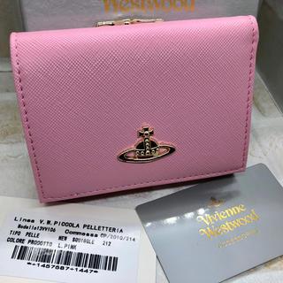ヴィヴィアンウエストウッド(Vivienne Westwood)のVivienne Westwood 三つ折り 財布 l.PINK 新品未使用(財布)