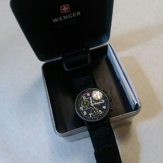 ウェンガー(Wenger)のウェンガー 時計 クロノグラフ ジャンク(腕時計(アナログ))