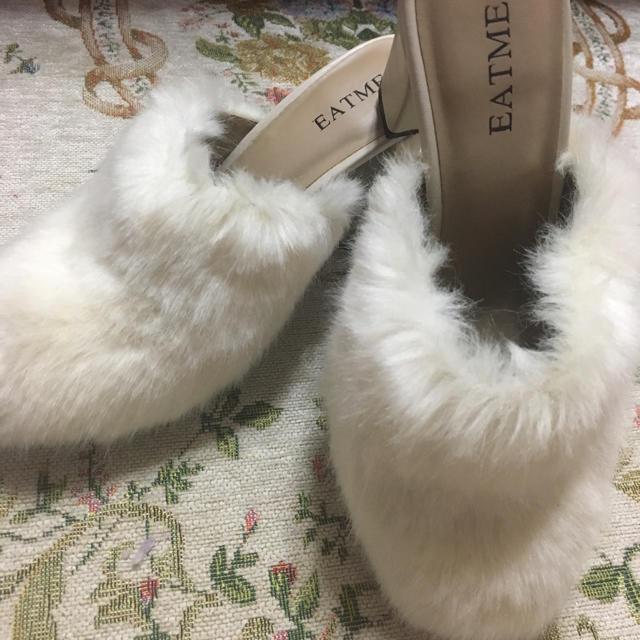 EATME(イートミー)のEAT ME ファーサンダ レディースの靴/シューズ(サンダル)の商品写真