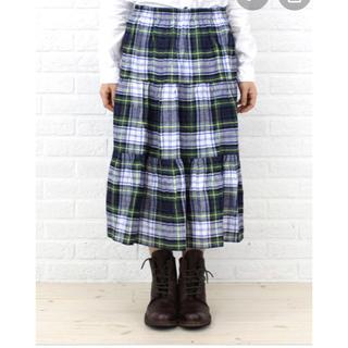 ジャーナルスタンダード(JOURNAL STANDARD)のオニールオブダブリン リネンティアードスカート ドレスゴードン 10(ロングスカート)