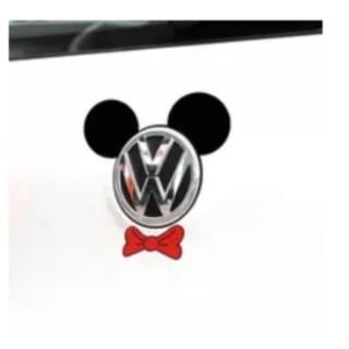 ディズニー(Disney)のミッキー ステッカー エンブレム(ステッカー)