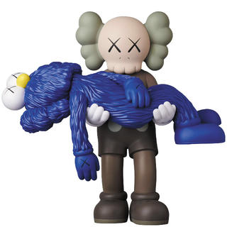 MEDICOM TOY - 確実正規品 kaws gone brown