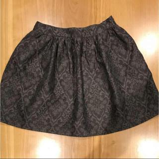 ザラ(ZARA)のZARA グレー 柄 スカート(ミニスカート)