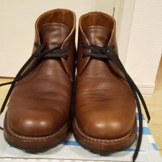 レッドウィング(REDWING)の【美品】レッドウィング ベックマン チャッカブーツ 9017 us8 26cm(ブーツ)