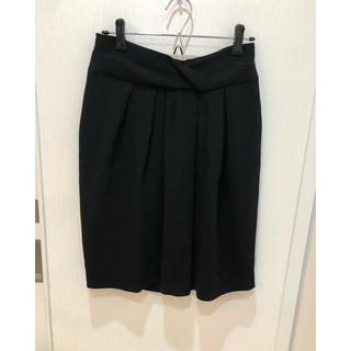 スピックアンドスパン(Spick and Span)のブラック スカート 38(ミニスカート)