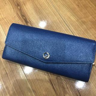 ヨンドシー(4℃)のルリア4℃   ネイビー長財布(財布)