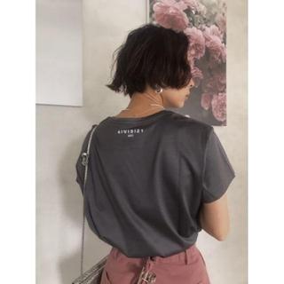 アメリヴィンテージ(Ameri VINTAGE)のAmeri【タグ付新品】コーティング ベーシックTシャツ(Tシャツ(半袖/袖なし))