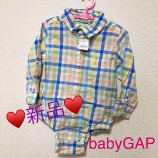 ベビーギャップ(babyGAP)の【未使用♥️babyGAP】長袖(ロンパース)