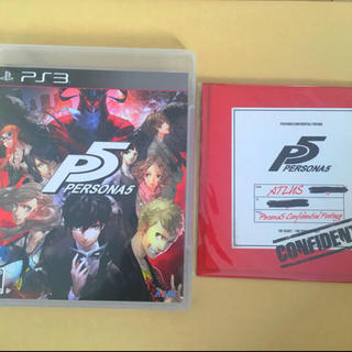 PlayStation3 - ペルソナ5 ps3 限定DVD付き