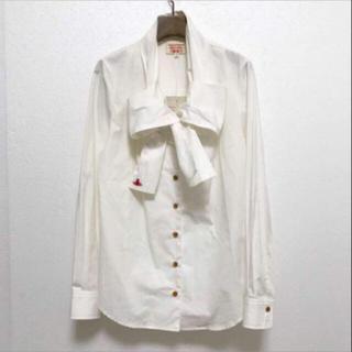 Vivienne Westwood - ヴィヴィアン ウエストウッド  リボン シャツ