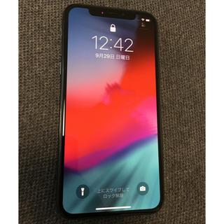 iPhone - SIMロック解除 iPhone X Space Gray 64 GB 本体のみ