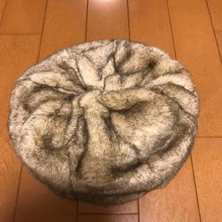 ユニクロ(UNIQLO)のファーベレー帽(ハンチング/ベレー帽)