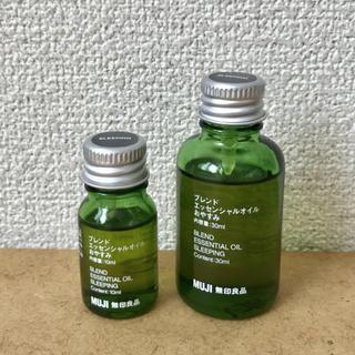 ムジルシリョウヒン(MUJI (無印良品))のブレンドエッセンシャルオイル おやすみ 10ml(エッセンシャルオイル(精油))