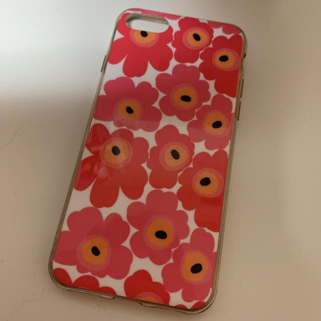 marimekko(マリメッコ)のmarimekko iPhoneケース 7.8 スマホ/家電/カメラのスマホアクセサリー(iPhoneケース)の商品写真