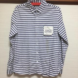 グローバルワーク(GLOBAL WORK)のgrn ストレッチ オックスフォード ボタンダウンシャツ  サイズ3(シャツ)