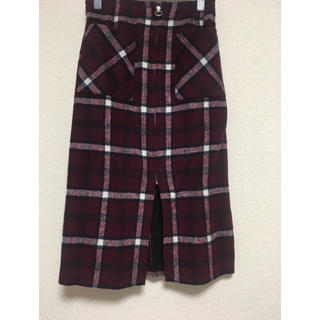 INGNI - チェックタイトスカート
