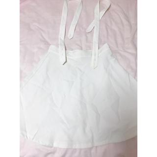 ジェイダ(GYDA)のホワイトスカート(ミニスカート)