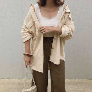 GU - 完売品✽GU コーデュロイオーバーサイズシャツ