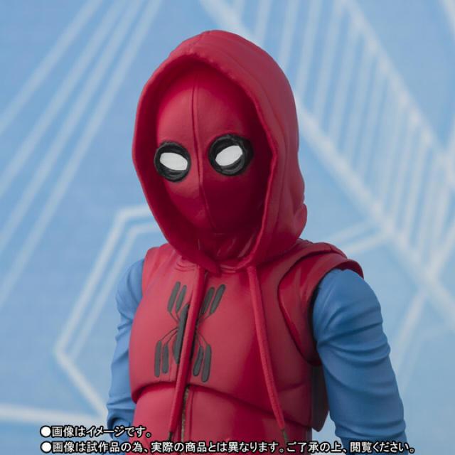 BANDAI(バンダイ)のs.h figuarts  フィギュアーツ スパイダーマン ホームカミング エンタメ/ホビーのフィギュア(アメコミ)の商品写真