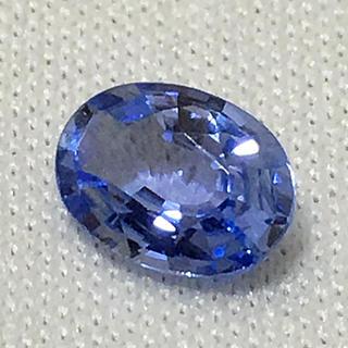 《宝石⚜️ルース》美品☪️天然ブルーサファイヤ✳️0.920ct 鑑別付。(リング(指輪))
