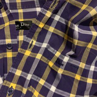 ディオール(Dior)のDior チェックシャツ(シャツ)
