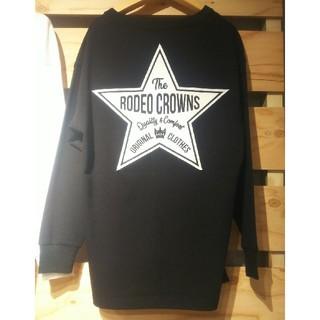 ロデオクラウンズワイドボウル(RODEO CROWNS WIDE BOWL)のテラ松ロンTブラック(Tシャツ(長袖/七分))