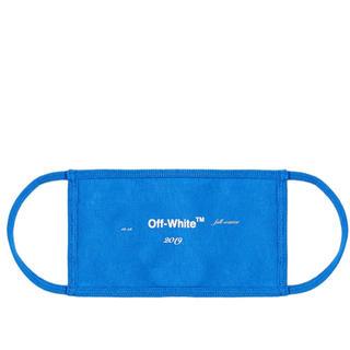 オフホワイト(OFF-WHITE)のOff-White COMBAT BLUE ロゴ マスク (その他)