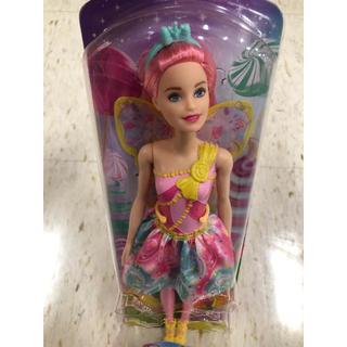 バービー(Barbie)のバービー人形 barbie かわいい スイーツフェアリー 新品 ピンクヘアー(ぬいぐるみ/人形)
