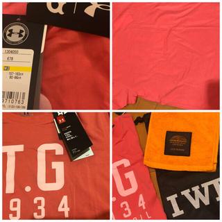 ヨミウリジャイアンツ(読売ジャイアンツ)のTG1934 アンダーアーマー レディース Tシャツ4400円 2019タオル(トレーニング用品)