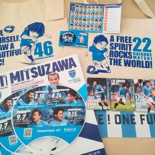 横浜FC 中村俊輔マルシェバッグ&松井大輔サコッシュ(記念品/関連グッズ)