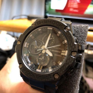 ジーショック(G-SHOCK)のG-STEEL カーボンベゼル GST-B100X1AJF(腕時計(アナログ))