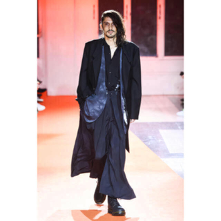 Yohji Yamamoto - ヨウジヤマモト 18AW LOOK1 ムラ染めジャケット