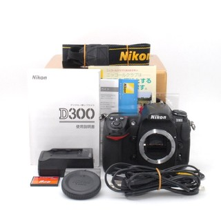 Nikon - ★耐久性と高級感を兼ね備えた名機★Nikon D300 ボディ♪