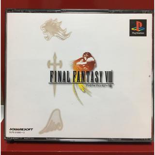 プレイステーション(PlayStation)のPS FF8 ファイナルファンタジー8 送料無料 名作 4枚組 ロープレ(家庭用ゲームソフト)