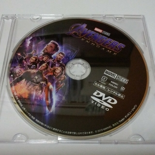 MARVEL - アベンジャーズ エンドゲーム DVDディスク