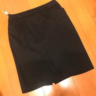 ベルメゾン - 大きなサイズ タイトスカート 黒ストレッチ13号StyleNoteクリーニング済
