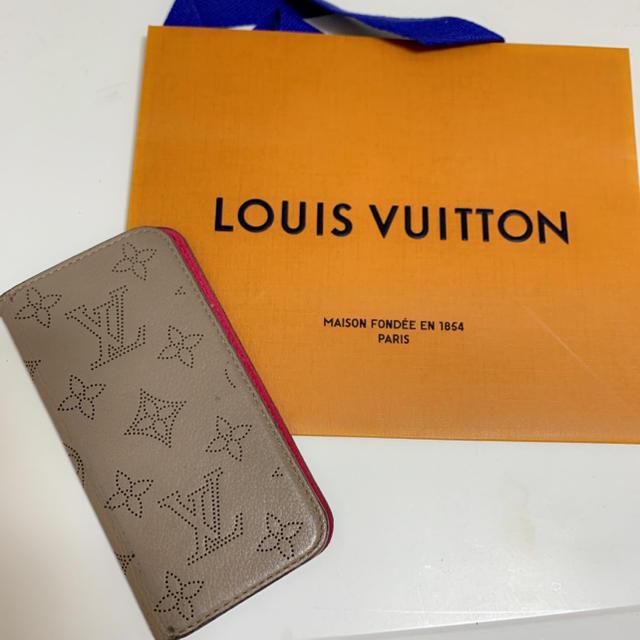 LOUIS VUITTON - お値下げ ルイヴィトン 手帳型iPhoneケース フォリア マヒナガレの通販