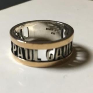 ジャン ポール ゴルチエ ゴルチェ リング シルバー ゴールド リング