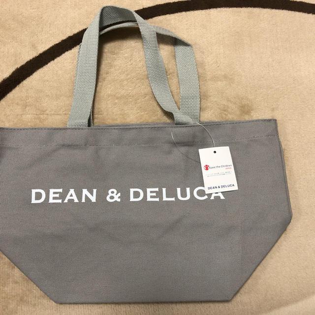 DEAN & DELUCA(ディーンアンドデルーカ)の【DEAN&DELUCA】トートバック★ディーン&デルーカ★グレーS レディースのバッグ(トートバッグ)の商品写真