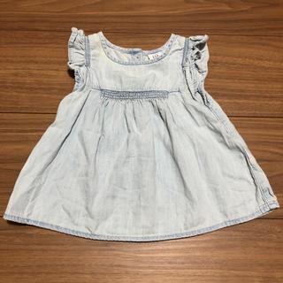 babyGAP - 美品★baby GAP デニムワンピース チュニック 70
