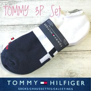 トミーヒルフィガー(TOMMY HILFIGER)の☆欧米限定 ☆ TOMMY HILFIGER 25cm〜29cm 男女兼用 靴下(ソックス)