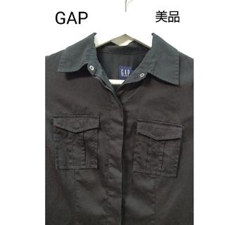 ギャップ(GAP)のGAP  黒  シャツ(シャツ/ブラウス(長袖/七分))
