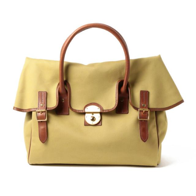 BEAMS(ビームス)のジョンチャップマン ビームスF別注フラップトートバッグ メンズのバッグ(トートバッグ)の商品写真