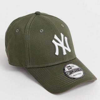 【新品未使用品】NEW ERA ニューエラ NY ベースボールキャップ カーキ
