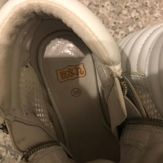 ASH(アッシュ)のASH スニーカーサンダル ホワイト  サイズL レディースの靴/シューズ(スニーカー)の商品写真