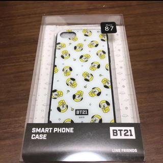 ボウダンショウネンダン(防弾少年団(BTS))のbt21 chimmy スマホケース (iPhoneケース)