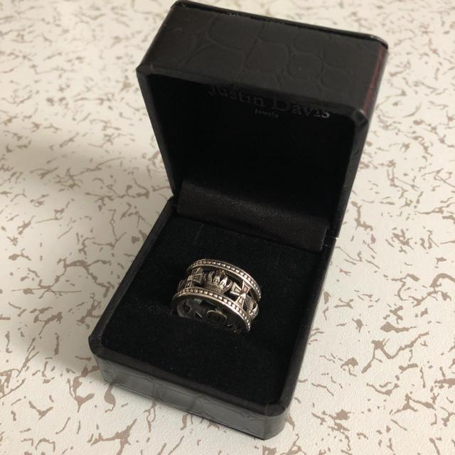 Justin Davis(ジャスティンデイビス)のジャスティンデイビス 12号 メンズのアクセサリー(リング(指輪))の商品写真