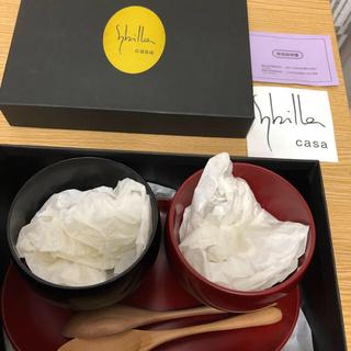 シビラ(Sybilla)のシビラ  デザートセット 漆器(食器)